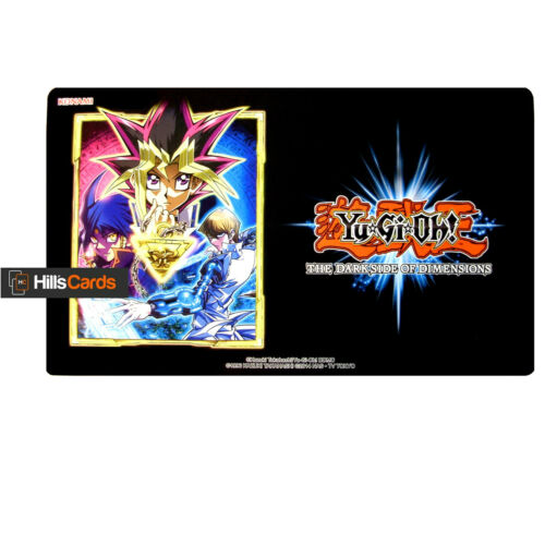 YuGiOh DarkSide of Dimensions PlayMat New & Boxed Trading Card Game Mat