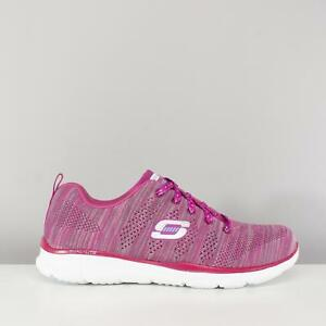 cordones y Equalizer Rate Zapatillas first rosa Skechers mujer transpirables color con para zZZ0Uq5x