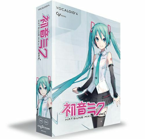CRYPTON VOCALOID 4 Vocaloid Hatsune Miku V4X DVD Software DAW Windows Mac  NEW
