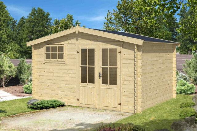 Gartenhaus Mit Fußboden Günstig ~ 28 mm gartenhaus fußboden 400x400 cm gerätehaus blockhaus schuppen