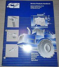 Cummins Dealer Certification Tools Service Shop Workshop Manual Handbook