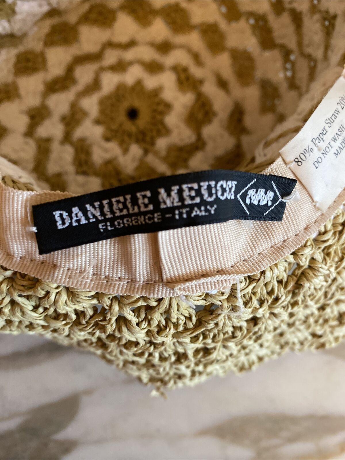 daniele meucci hat Paper Natural White Sun Hat - image 5