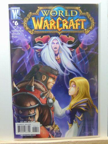 World of Warcraft #6 W.O.W Wildstorm Comics CB8651