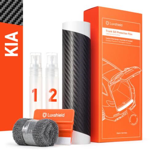 III Ladekantenschutz Folie Kia Picanto 3 JA Carbon Optik