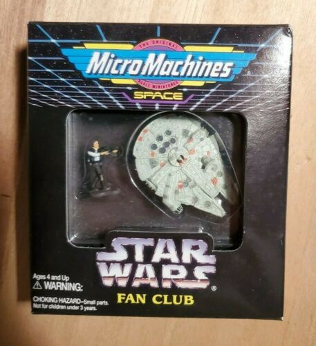 Destroyer rare New in Box 1994 STAR WARS MICRO MACHINES fan club ensembles Millennium Falcon