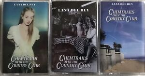 Lana Del Rey - Chemtrails Album With 3 Different Cassette Case Covers
