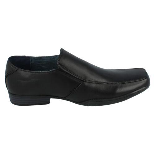 99 A1043 Black Synthetic Maverick Slip On By Mens £9 Shoe Retail vA4q74x
