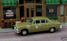 First Response 1/43 US Army Staff Car -  1950 Ford - Great 4 Model Train Layouts