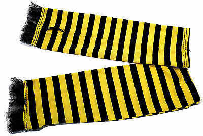 CLAIRE'S CLUB GIRLS BUMBLE BEE EYECATCHING ARM GLOVES FANCY DRESS 4-6 YEARS BNWT