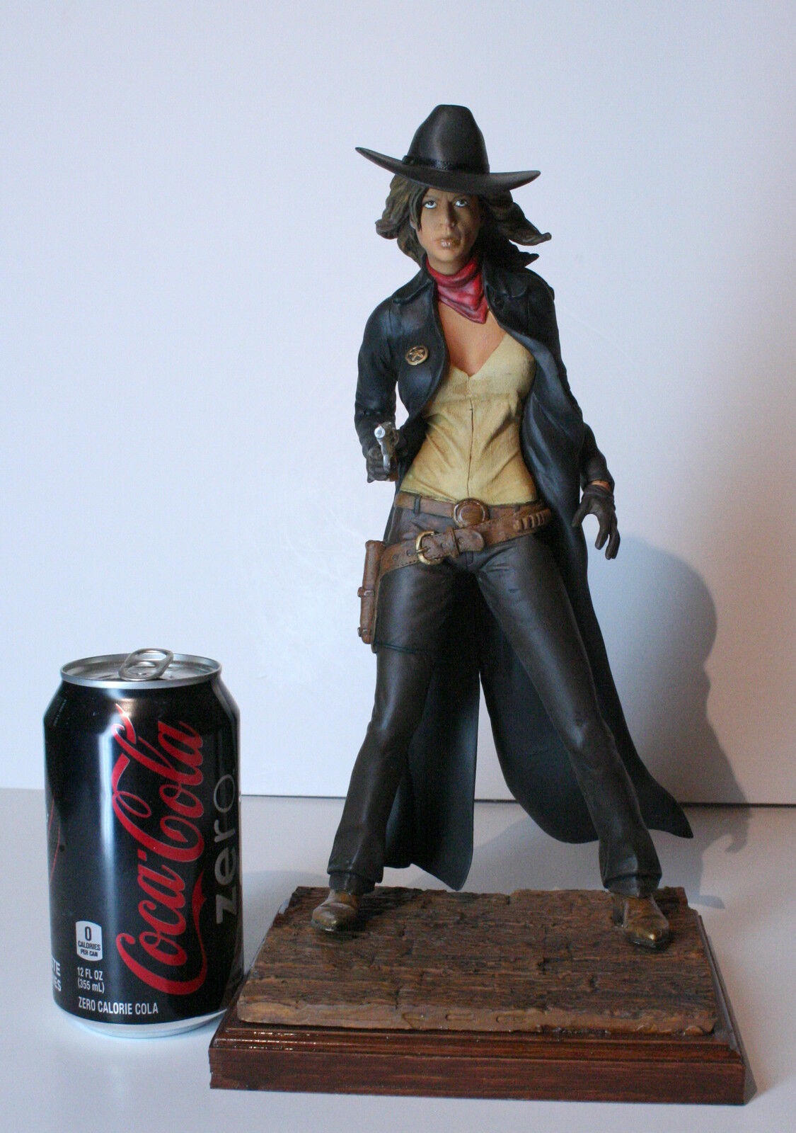 1 6 Resin Model Kit, Sexy action figure Cowgirl Sheriff