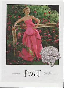 PIAGET-BAGUE-Pub-de-Magazine-Magazine-advertisement-2012-page-papier