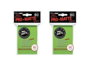 360x-Ultra-Pro-LIME-Pro-Matte-SMALL-YUGI-Deck-Protector-Sleeves