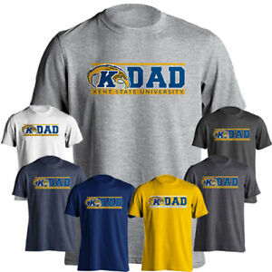newest aef2d 2ae2d Details about Kent State University Golden Flashes Dad Tee Father Parent  Short Sleeve T-Shirt