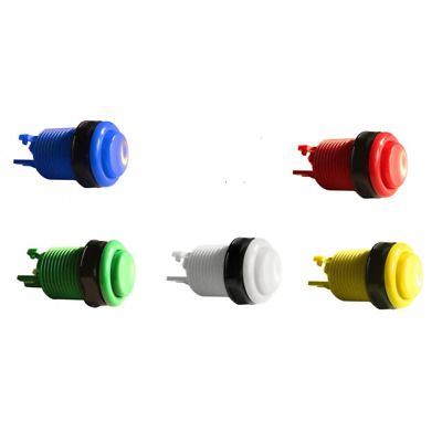 or more Red and more! Arcade push button 6 pack for MAME Blue 60 in 1 pcb