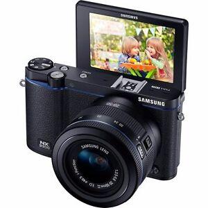 5ced0ebdf5536 Samsung Nx3300 Black Digital Camera with Lens Flash for sale online ...