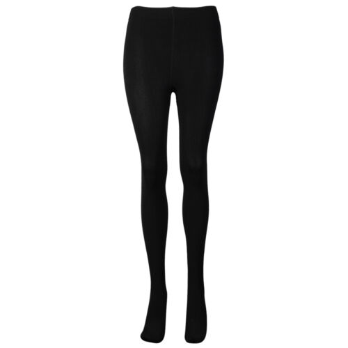 OCTAVE® Ladies Black Thermal Tights Softly Brushed Inside Winter Baselayer Women