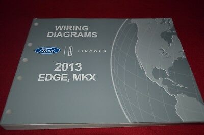 2013 Ford Edge Lincoln MKX Dealer Wiring Diagrams Manual ...