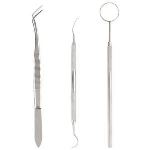 Kit-strumenti-dentista-specchietto-pulizia-denti-ispezione-pinzetta-acciaio-inox