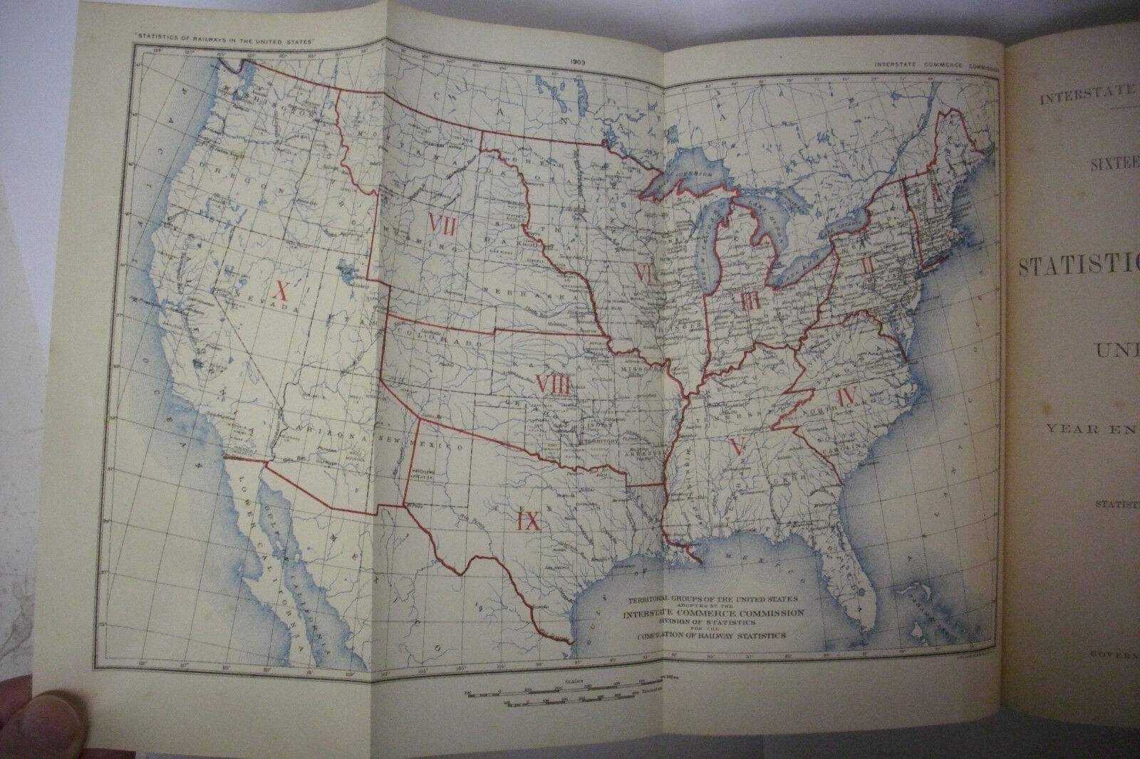1903 ANNUAL REPORT ON THE RAILWAYS IN THE US RailroadTrainsw