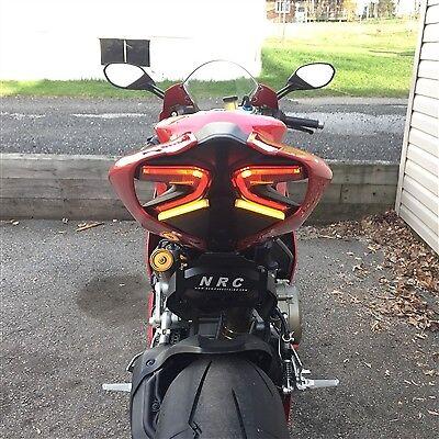 Ducati Panigale 1299 DEL Fender Eliminator Kit CNRC Queue Lumière Nouveau Rage cycles