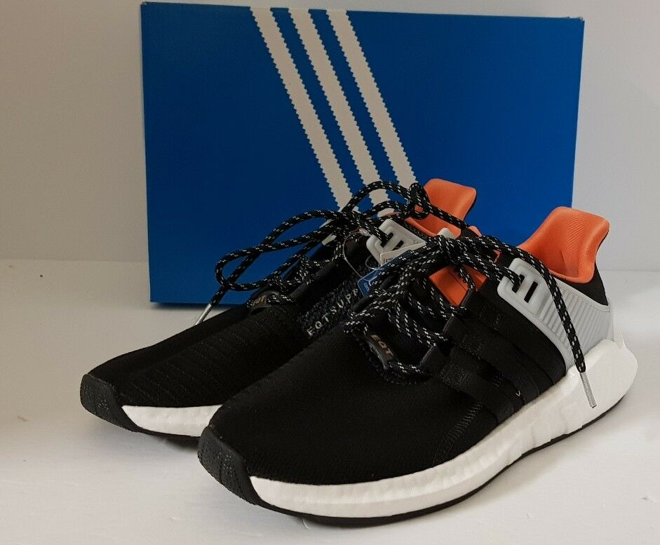 NEW Adidas EQT Support 93/17 Welding Pack Black White Shoes CQ2396 Men's 9.5