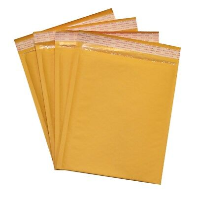 Inner 8.5x11 200 pcs #2 Kraft Bubble Padded Envelopes Mailers 8.5x12