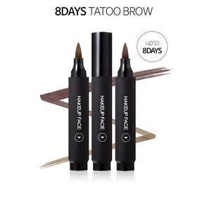 b1113cb01 La foto se está cargando Nakeup-Cara-Ojo-Cejas-tatuaje-8-dias-2-