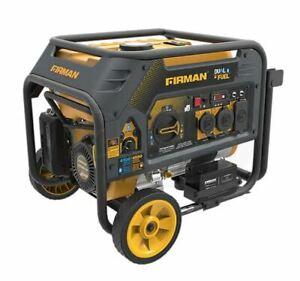 NEW Firman H03651 3650W Electric Start Dual Fuel Portable Generator