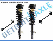 New 4pc Front Complete Quick Strut Suspension Kit Assembly for Fusion and Milan