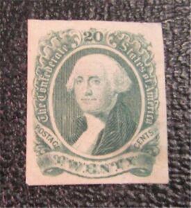 nystamps US CSA Confederate Stamp # 13 Mint OG H $45