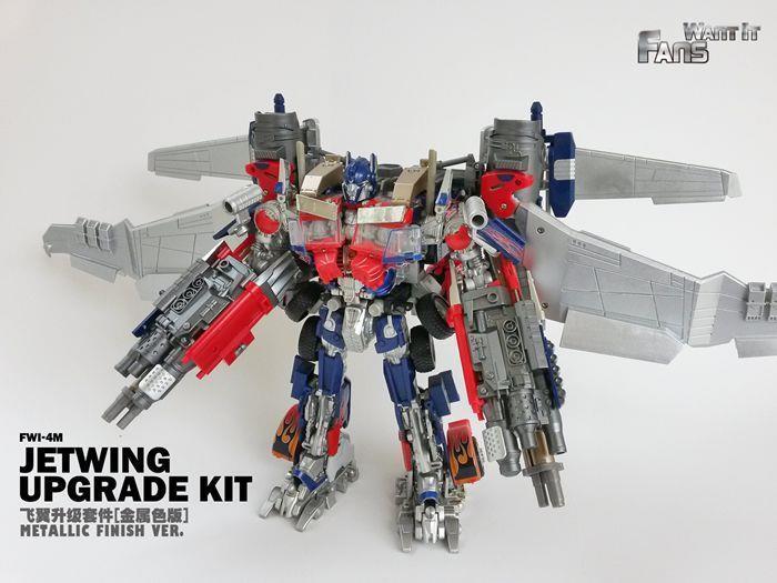 FWI-4M JetWing Upgrade Upgrade Upgrade Kit Metallic finish Transformers L-Class Optimus Prime 3217a0