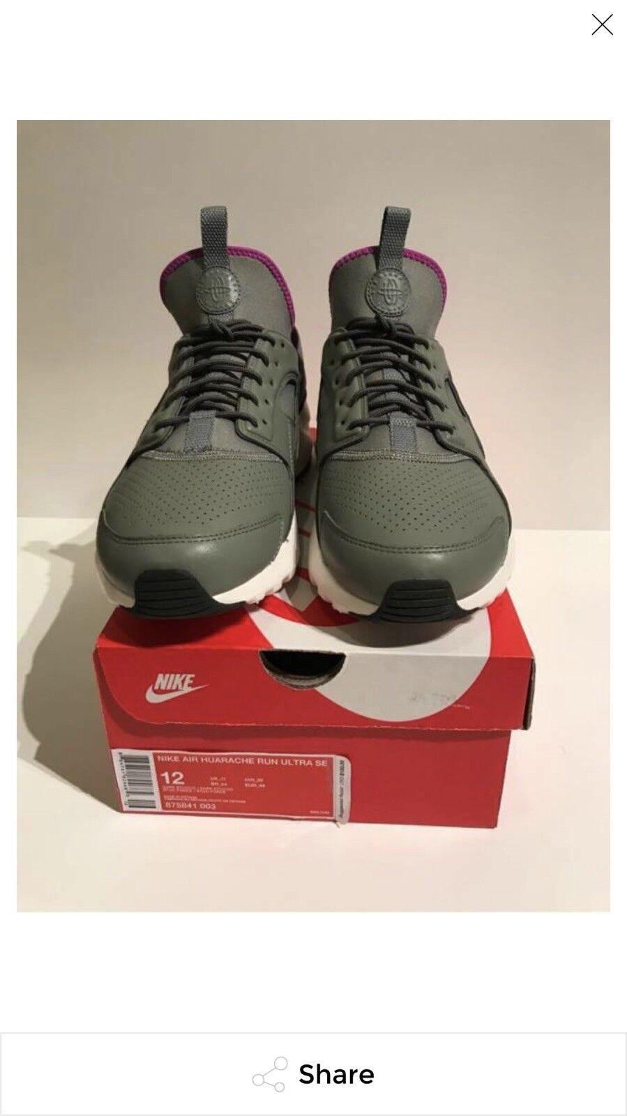 Nike Air Huarache Run Ultra SE Dark Stucco 875841003 Size 12
