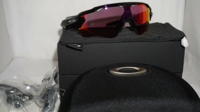 37905052a17e OAKLEY New Sunglasses RADAR PACE Polished Black Prizm Road Clear OO9333-01