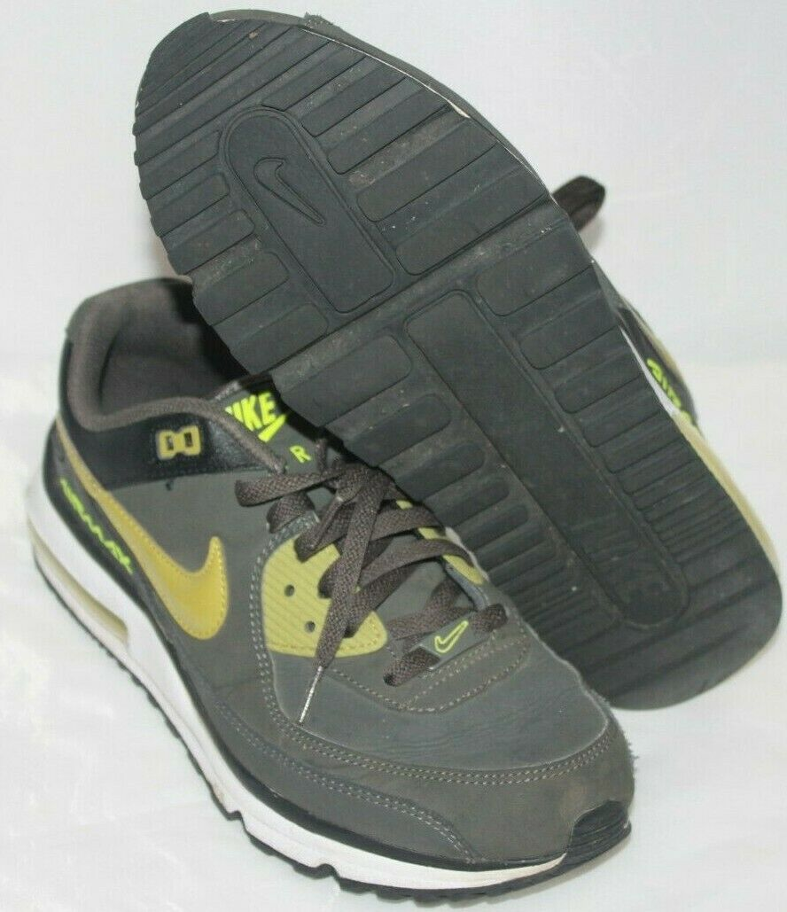 Nike Men's Air Max Cross Training shoes Size 10.5 Cushioned Sole Green Green