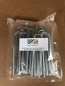 50 x PACK TRADE CONTRACTOR FIXING PINS ARTIFICIAL GRASS 150mm x 30mm x 150mm