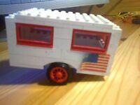 LEGO Wohnwagen Anhänger aus den 70igern