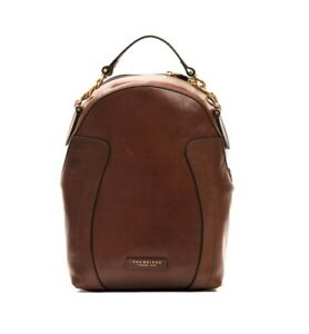 Zaino-zainetto-Backpack-THE-BRIDGE-pelle-leather-made-in-Italy-donna-woman-spall