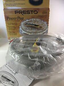PRESTO Power Pop Microwave Popcorn Corn Kernel Popper