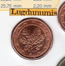 Allemagne 2013 5 centimes A Berlin FDC provenant coffret BU 40000 exemplaires