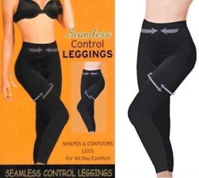 Energisch Control Slimming Shapewear Seamless Leggings High Waist Tummy Support Size S-3xl Die Nieren NäHren Und Rheuma Lindern