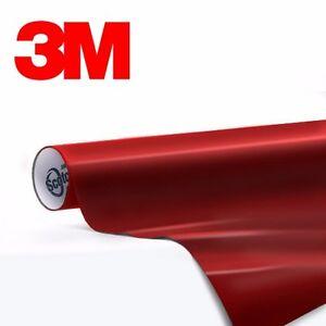 3m 1080 Metallic Red Gloss Vinyl Vehicle Decal Trim Car