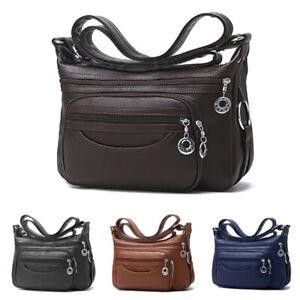 Women-039-s-Casual-Purse-Shoulder-Handbags-PU-Leather-Satchel-Bags-Cross-Body-Bags