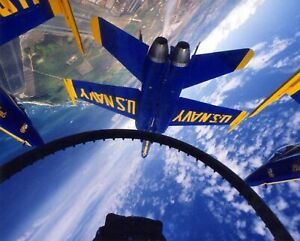 Iconic Arts Laminated 30x24 inches Poster: Us Navy Blue Angels