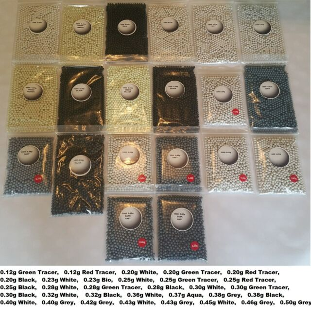 PRECISION POLISHED AIRSOFT BB PELLETS BBS 6mm AMMO HIGH QUALITY GLOSSHEAVYSNIPER