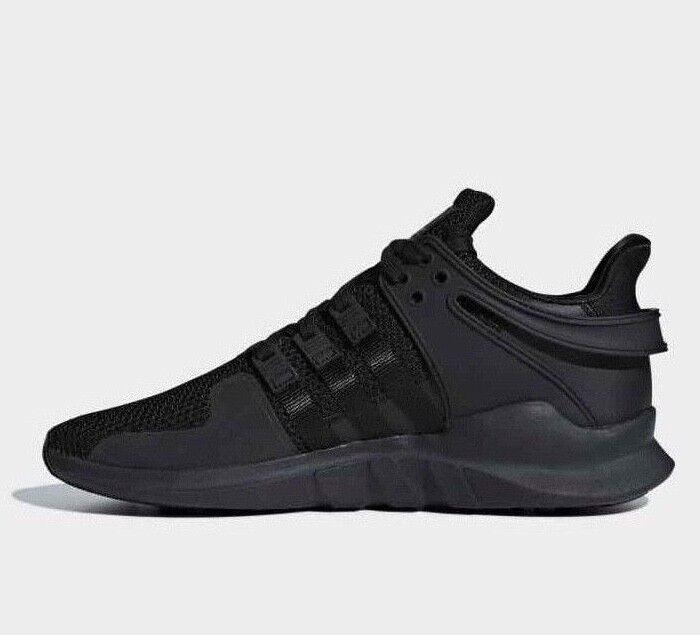 Adidas Originals EQT Support ADV Triple Nero Uomo Size10 D96771