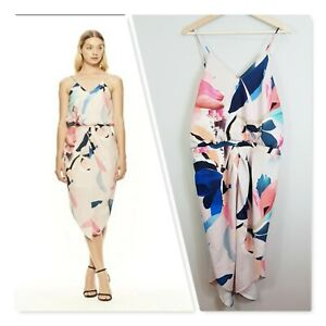 COOPER-ST-Womens-Can-039-t-Let-Go-Midi-Dress-NEW-Size-AU-16-or-US-12