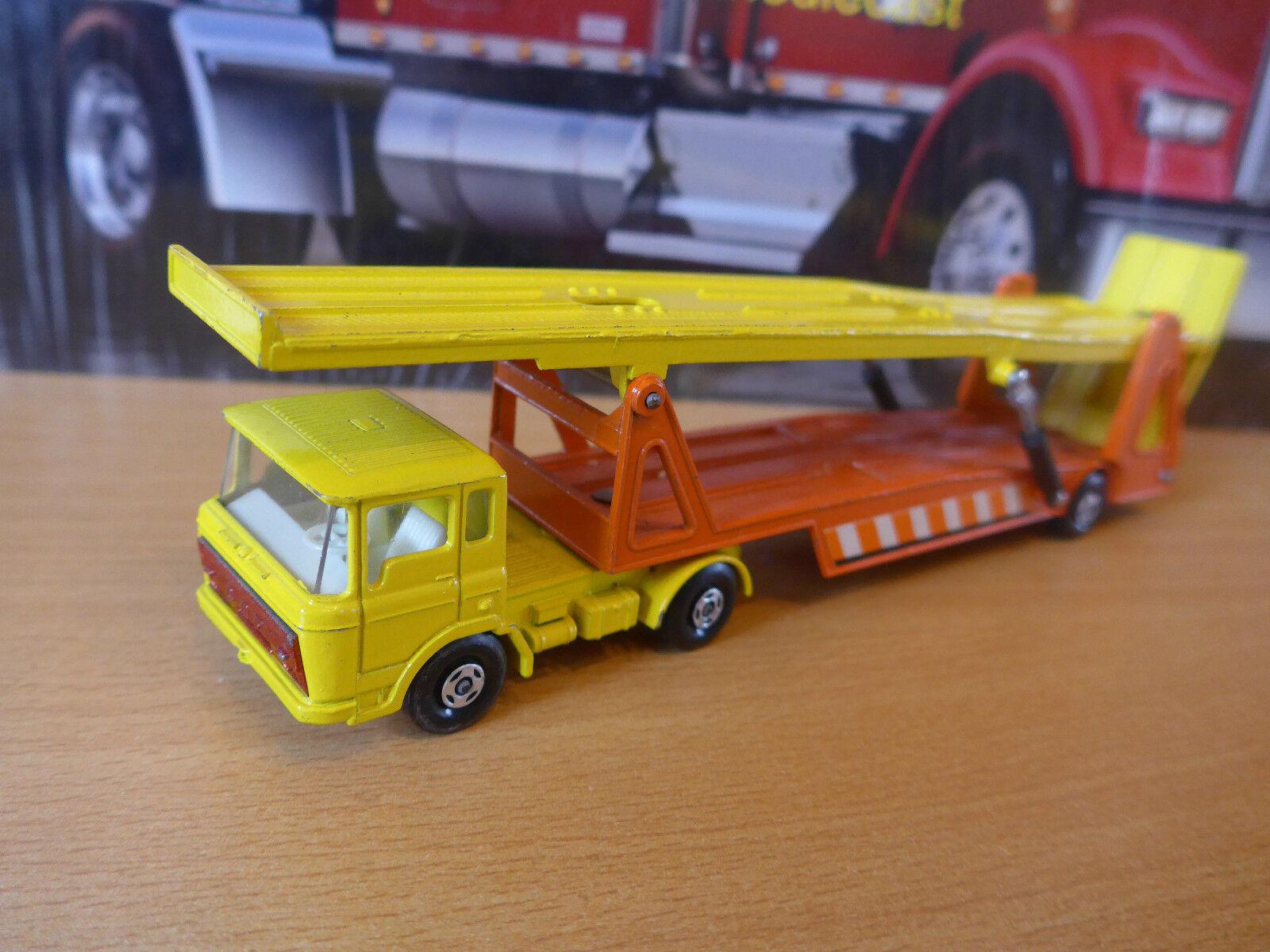 Matchbox-Superkings K11Daf car transporter made in England by Lesney 1970