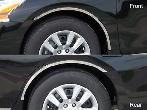 FITS NISSAN ALTIMA 13-15 POLISHED STAINLESS CHROME TAPE ON ...