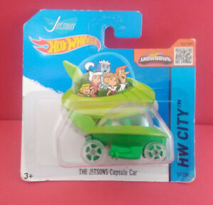HOT-WHEELS-THE-JETSONS-CAPSULE-CAR-HW-CITY-VOITURE-2013-REF-4186