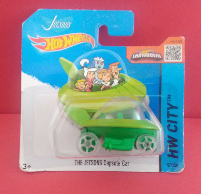 HOT WHEELS - THE JETSONS CAPSULE CAR - HW CITY - VOITURE - 2013 - REF 4186